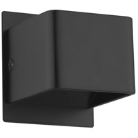 Eglo 202633A Sania 3 LED 4 inch Black Wall Light
