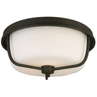 Eglo 202793A Mayview 3 Light 16 inch Matte Bronze Flush Mount Ceiling Light