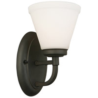 Eglo 202794A Mayview 1 Light 7 inch Matte Bronze Armed Wall Sconce Wall Light