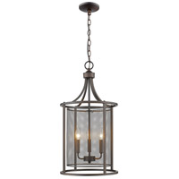 Eglo 202807A Verona 3 Light 14 inch Oil Rubbed Bronze Foyer Pendant Ceiling Light