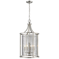 Verona 4 Light 18 inch Brushed Nickel Foyer Pendant Ceiling Light