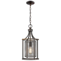 Eglo 202812A Verona 1 Light 10 inch Oil Rubbed Bronze Foyer Pendant Ceiling Light
