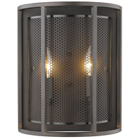 Verona 2 Light 5 inch Steel Wall Sconce Wall Light