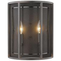 Eglo 202816A Verona 2 Light 5 inch Steel Wall Sconce Wall Light