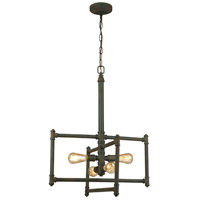 Eglo 202833A Wymer 4 Light 24 inch Zinc Pendant Ceiling Light