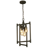 Eglo 202836A Wymer 4 Light 13 inch Matte Bronze Foyer Pendant Ceiling Light