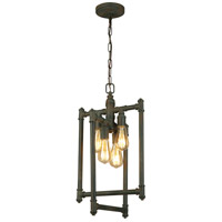 Eglo 202837A Wymer 4 Light 13 inch Zinc Foyer Pendant Ceiling Light