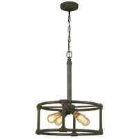 Eglo 202846A Wymer 4 Light 19 inch Zinc Pendant Ceiling Light