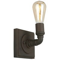 Eglo 202852A Wymer 1 Light 5 inch Matte Bronze Wall Sconce Wall Light