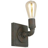 Eglo 202853A Wymer 1 Light 5 inch Zinc Wall Sconce Wall Light photo thumbnail