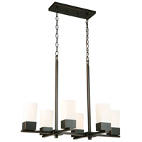 Ciara Springs 6 Light 18 inch Oil Rubbed Bronze Pendant Ceiling Light