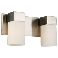 Eglo 202862A Ciara Springs 2 Light 13 inch Brushed Nickel Bath Vanity Wall Light