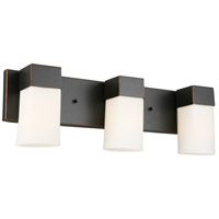 Eglo 202863A Ciara Springs 3 Light 22 inch Oil Rubbed Bronze Bath Vanity Wall Light