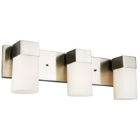 Eglo 202864A Ciara Springs 3 Light 22 inch Brushed Nickel Bath Vanity Wall Light