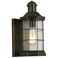Eglo 202872A San Mateo Creek 1 Light 13 inch Oil Rubbed Bronze Outdoor Wall Light