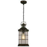 Eglo 202873A San Mateo Creek 1 Light 8 inch Oil Rubbed Bronze Outdoor Pendant