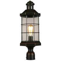 Eglo 202874A San Mateo Creek 1 Light 21 inch Oil Rubbed Bronze Outdoor Post lantern