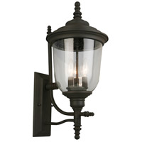 Eglo 202875A Pinedale 3 Light 22 inch Matte Bronze Outdoor Wall Light
