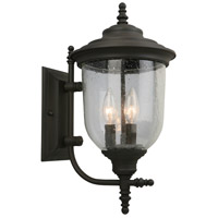 Eglo 202876A Pinedale 3 Light 18 inch Matte Bronze Outdoor Wall Light