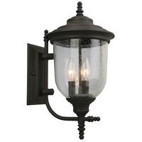 Eglo 202876A Pinedale 3 Light 18 inch Matte Bronze Outdoor Wall Light