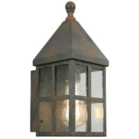 Creston Creek 1 Light 12 inch Zinc Outdoor Wall Light