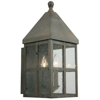 Creston Creek 3 Light 19 inch Zinc Outdoor Wall Light