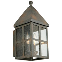 Eglo 202886A Creston Creek 1 Light 14 inch Zinc Outdoor Wall Light