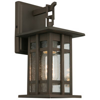 Eglo 202887A Arlington Creek 1 Light 10 inch Matte Bronze Outdoor Wall Light