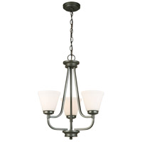 Mayview 3 Light 19 inch Graphite Chandelier Ceiling Light