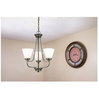 Eglo 202903A Mayview 3 Light 19 inch Graphite Chandelier Ceiling Light alternative photo thumbnail