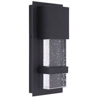 Eglo 202953A Venecia LED 10 inch Matte Black Outdoor Wall Light