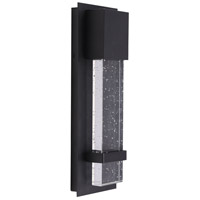 Eglo 202955A Venecia LED 15 inch Matte Black Outdoor Wall Light