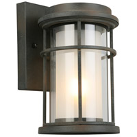 Helendale 1 Light 10 inch Zinc Outdoor Wall Light