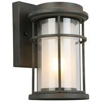 Eglo 203023A Helendale 1 Light 10 inch Zinc Outdoor Wall Light
