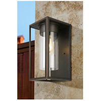 Eglo 203032A Walker Hill 1 Light 15 inch Oil Rubbed Bronze Outdoor Wall Light