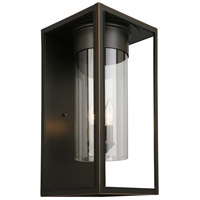 Eglo 203034A Walker Hill 3 Light 18 inch Oil Rubbed Bronze Outdoor Wall Light