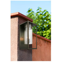 Eglo 203034A Walker Hill 3 Light 18 inch Oil Rubbed Bronze Outdoor Wall Light alternative photo thumbnail