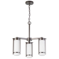 Truxton 3 Light 22 inch Graphite Chandelier Ceiling Light