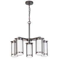 Truxton 5 Light 24 inch Graphite Chandelier Ceiling Light