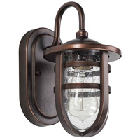 Eglo 203125A Strathclyde 1 Light 13 inch Antique Bronze Outdoor Wall Light