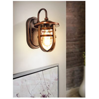 Eglo 203125A Strathclyde 1 Light 13 inch Antique Bronze Outdoor Wall Light alternative photo thumbnail