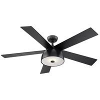 Eglo 203228A Lestat 52 inch Matte Black with Black Plywood Blades Ceiling Fan