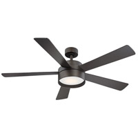 Eglo 203231A Whitehaven 52 inch Bronze with Bronze Plywood Blades Ceiling Fan