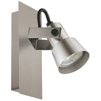 Eglo 203245A Trillo LED 5 inch Brushed Nickel Wall Light