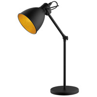 Eglo 203447A Priddy 2 17 inch 40.00 watt Black Floor Lamp Portable Light