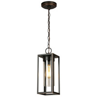 Eglo 203663A Walker Hill 1 Light 5 inch Oil Rubbed Bronze Outdoor Pendant