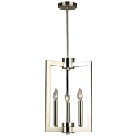 Eglo 203671A Jordan 3 Light 13 inch Satin Nickel Pendant Ceiling Light