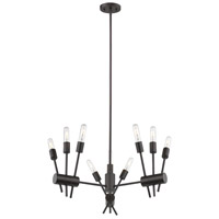 Eglo 203722A Willsboro 9 Light 28 inch Bronze Pendant Ceiling Light