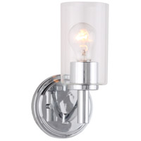 Eglo 203746A Devora 1 Light 6 inch Chrome Wall Sconce Wall Light