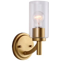 Eglo 203747A Devora 1 Light 6 inch Antique Gold Wall Sconce Wall Light photo thumbnail